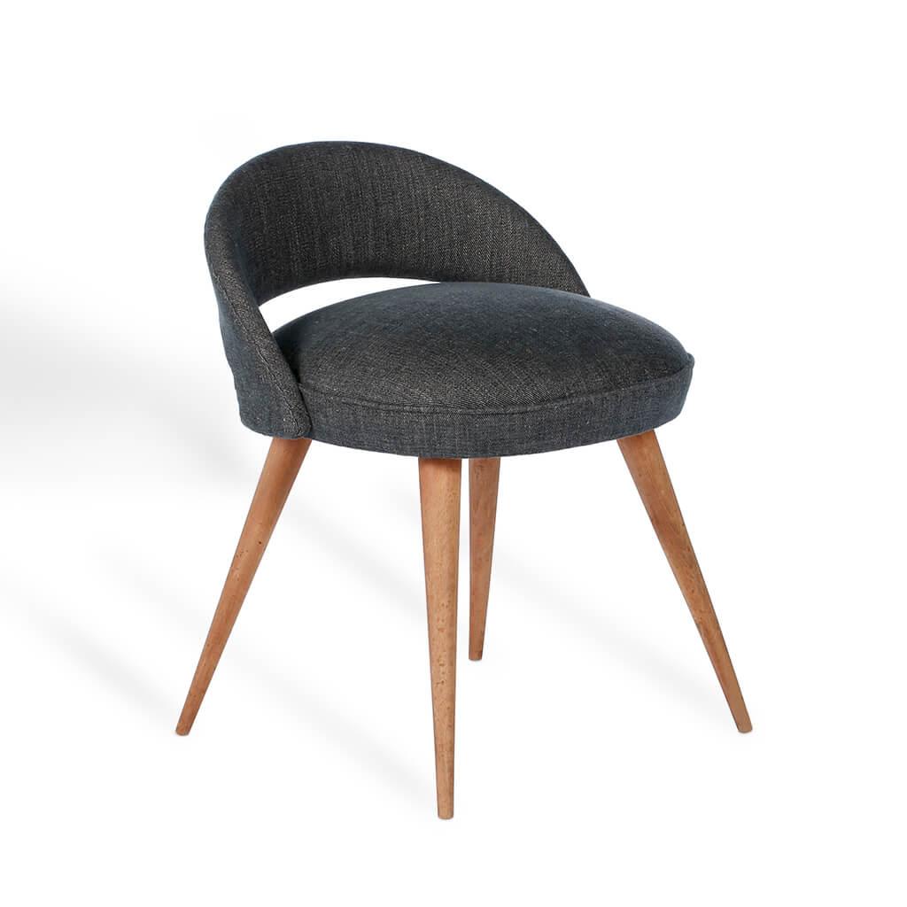 Petite Chaise Aux Pieds Compas (Années 60)